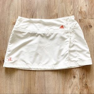 Adidas Women's White Tennis Skirt
